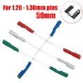 4 шт. 50 мм 5N проигрыватель фоно Шелл чистой ленты ведет заголовок Шелл жильный кабель Литцендрат универсальный для 1,2-1,3 мм булавки