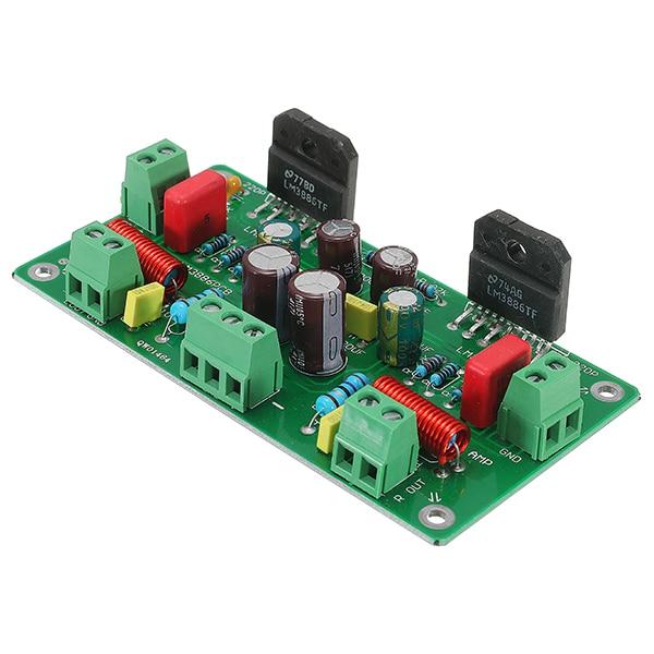 1Pc LM3886 HiFi TF Stereo Amplifier Assembled AMP Module Board 68W+68W 4ohm 50W*2 / 38W*2 8ohm Classic Circuit1Pc LM3886 HiFi TF Stereo Amplifier Assembled AMP Module Board 68W+68W 4ohm 50W*2 / 38W*2 8ohm Classic Circuit