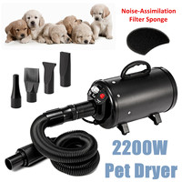 Dog Grooming Dryer Cheap Pet Dog Hair Dryers Blower Waterproof Low Noise Stepless Wind Speed 120V 2800W US Plug