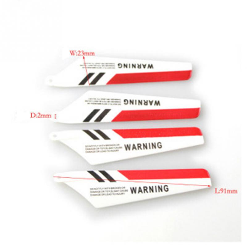 SYMA S107G remote control aircraft Main Blades Rotor Blade Propellers RC Helicopter accessories