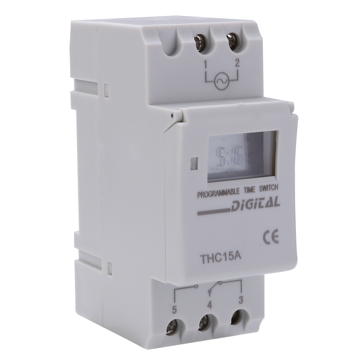 Computer & Office Kg316t-ii Mini Programmable Din Rail Digital Lcd Timer Switch Electronic Home Security Control Switch Automatic Timer Switch Cheap Sales 50%