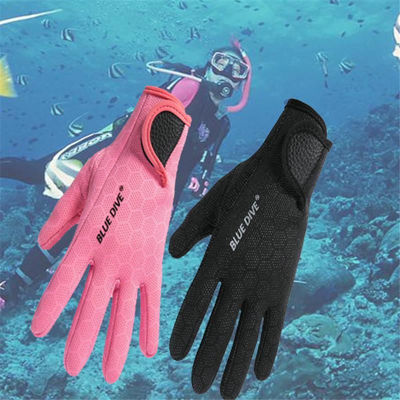 1.5mm Neoprene Swimming Waterproof Skid-proof Diving Snorkeling Surfing Water Sport Gloves Winter Swimming Warm Mittens