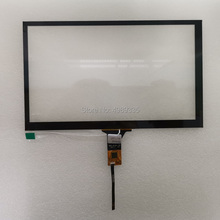 Capacitive touch screen 8-inch IIC 6P universal interface touch ratio 16:9 for 1024X600/800X480 resolution