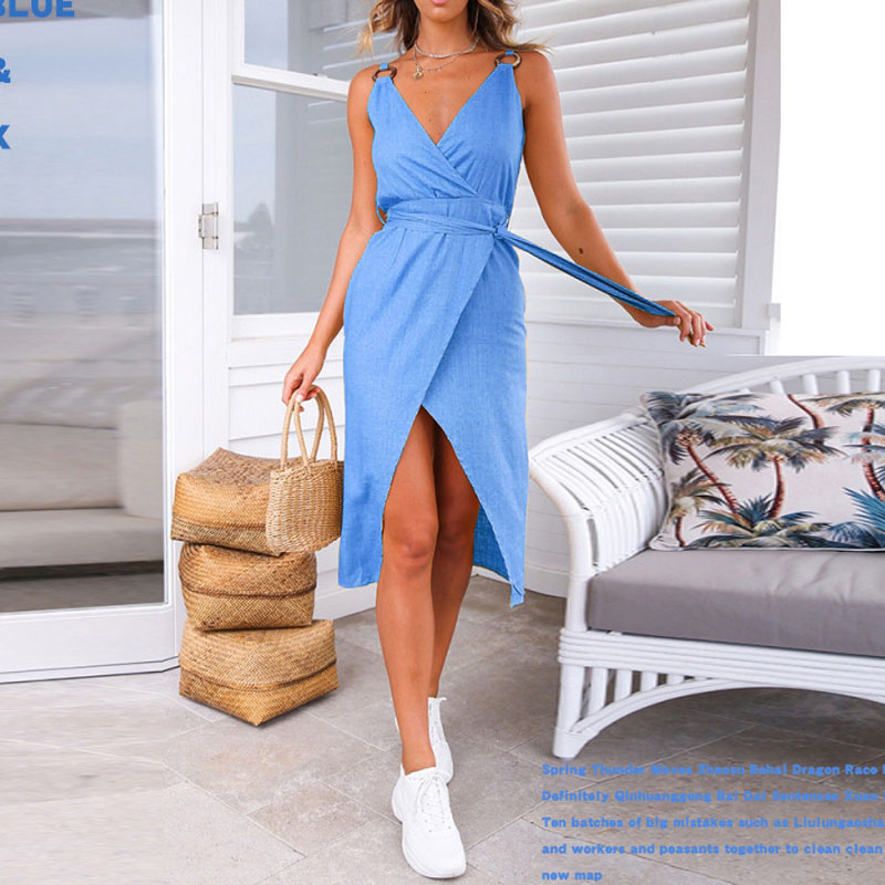 Sexy Summer White Dress Women Spaghetti Strap Dresses Ladies Female Sleeveless Beach Party Pink Bandage Bodycon Midi Sundress