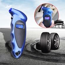 Digital Car Tire Tyre Air Pressure Gauge Meter LCD Display Manometer Barometers Tester for Car Truck High Precision 0-150PSI
