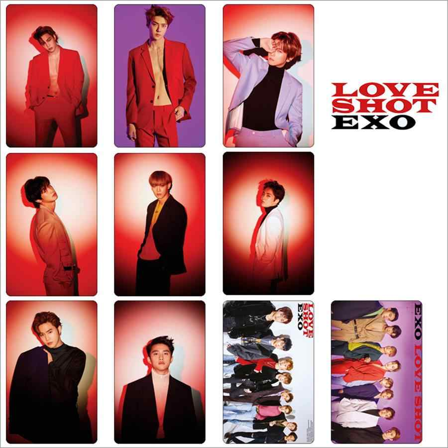Kpop EXO Pas Foto Stiker Cinta Ditembak Baekhyun Chanyeol Foto Stikcy Kartu Kristal Card Sticker 10.jpg q50