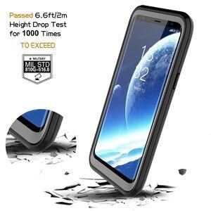 Image 3 - 삼성 갤럭시 S9 케이스 360 보호 전신 견고한 클리어 범퍼 케이스 내장