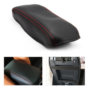Car Center / Door Armrest Panel Microfiber Leather Trim Cover For Honda Civic 9th Gen 2012 2013 2014 2015