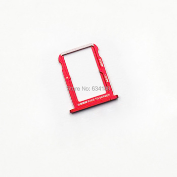 10pcs/lot SIM Card Tray For Xiaomi Mi A2 / Mi 6X Sim Cards Adapters Phone Replacement Spare Parts