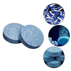 Image 1 - 10ピース/セット凝縮発泡タブレット水固体濃縮スーパーオートガラス従来クリーナーカーアクセサリーチューブ