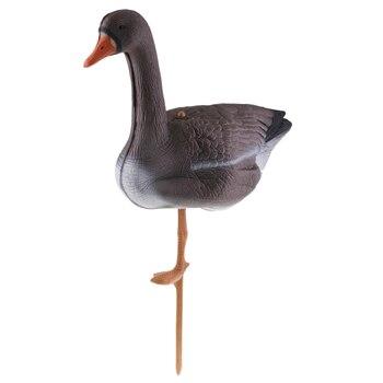 Señuelo para caza de gansos de cuerpo entero s decoración de césped señuelo para caza de gansos
