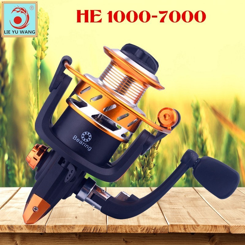 Genuine/Original Fishing Reel Spinning Smooth 1000 2000 <font><b>3000</b></font> 4000 5000 6000 7000 Jig Coil Fly Wheel Light Long Shot Feeder Pesca image