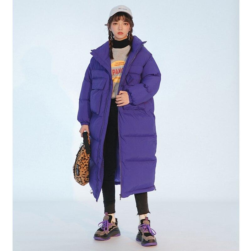 Noir Casual Coton À black Vestes Au violet Col Manches Apricot Longues 2019 manteau Stand Printemps Lâche Fi846 Femmes Mode Chaud Shengpalae Coréenne Garder WqxZYnzTwB