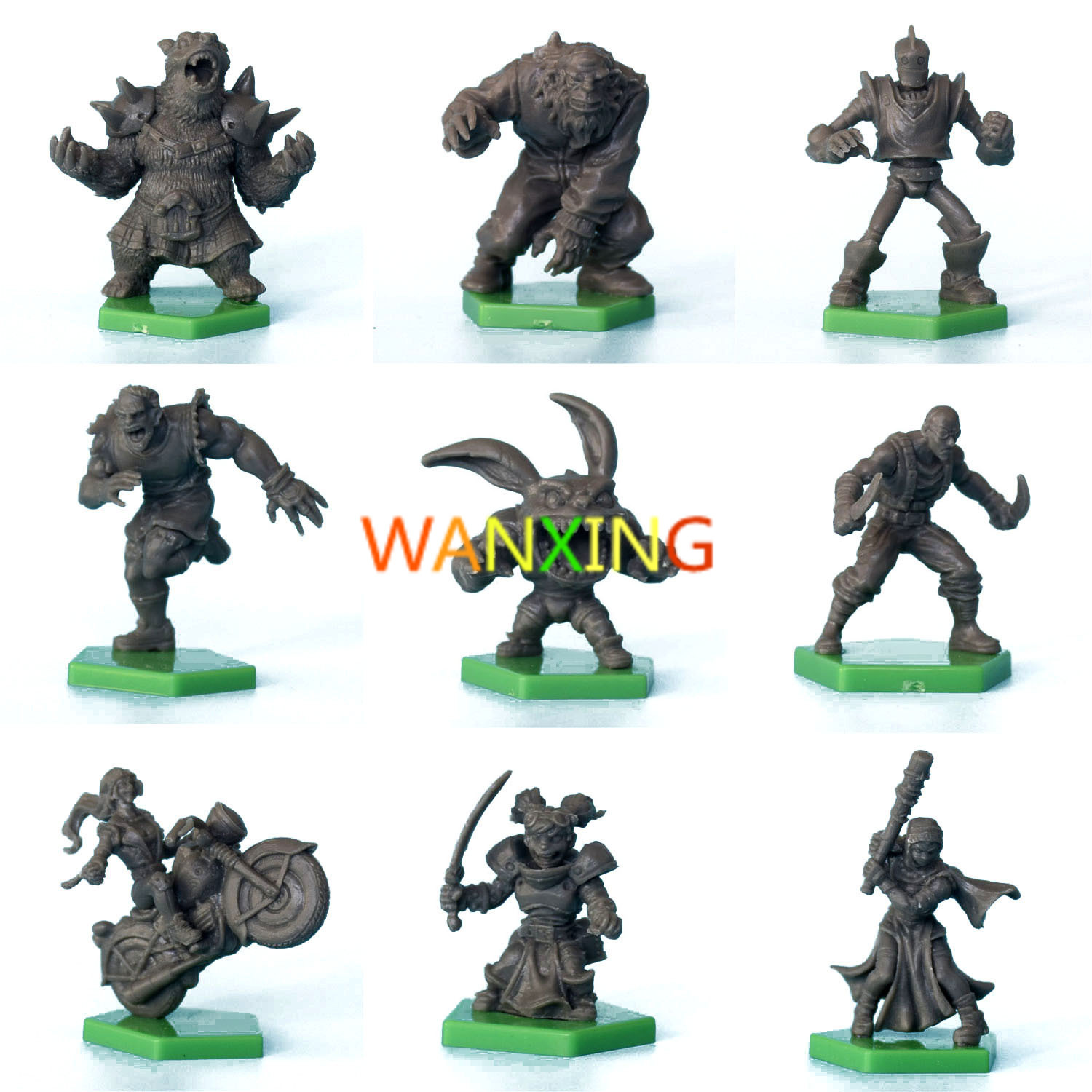 1/72 Scale Models Kaosball Role Playing Board Game Resin DIY Kit Extended Toys For Children Free Shipping