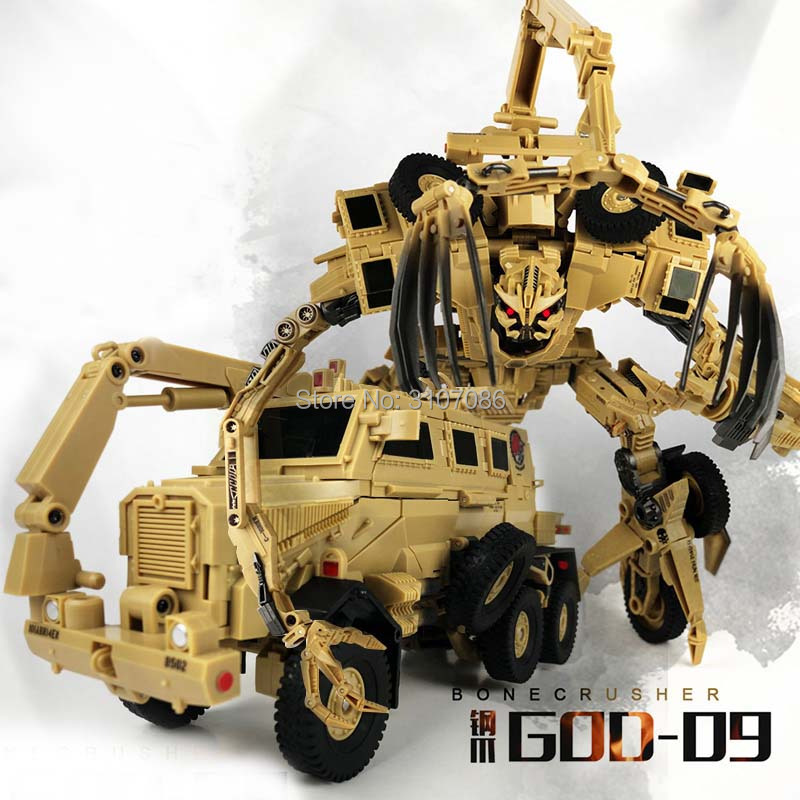 TF Dreams Bonecrusher GOD 09 GOD09 Transformation Movie Film Classic MP Lever Collection Action Figure Robot