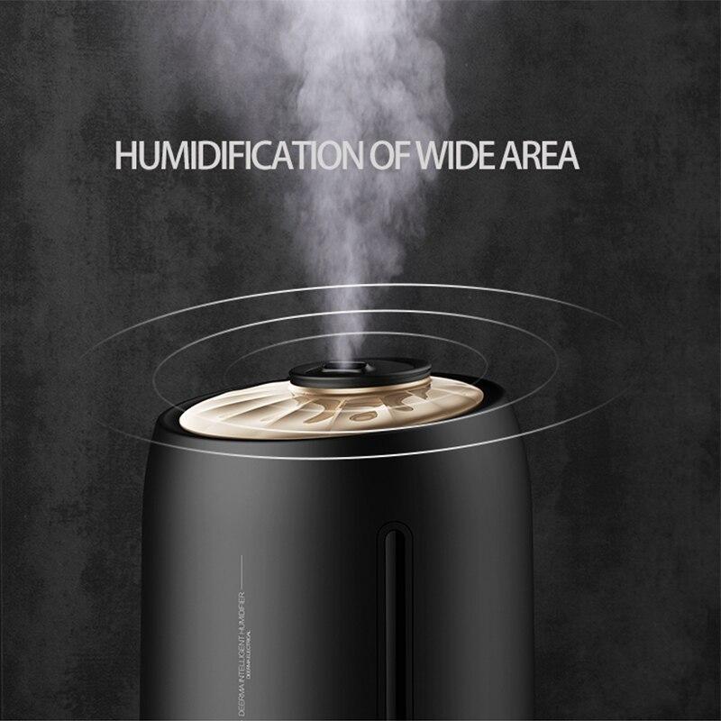 Deerma Mute Ultrasound Capacity Sterilization Humidifier Air Aroma Diffuser Purifier Mist Maker Large Capacity Humidifier