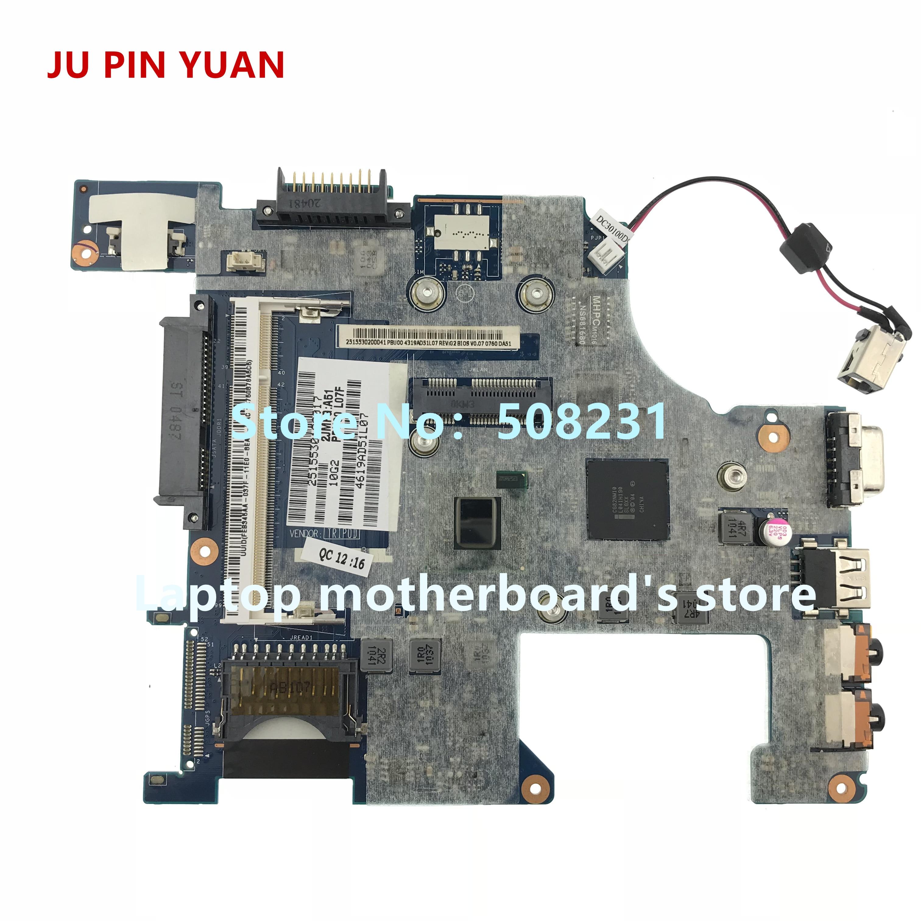 JU PIN YUAN For Toshiba Mini NB500 NB505 laptop Motherboard  K000114430 LA-6855P fully TestedJU PIN YUAN For Toshiba Mini NB500 NB505 laptop Motherboard  K000114430 LA-6855P fully Tested