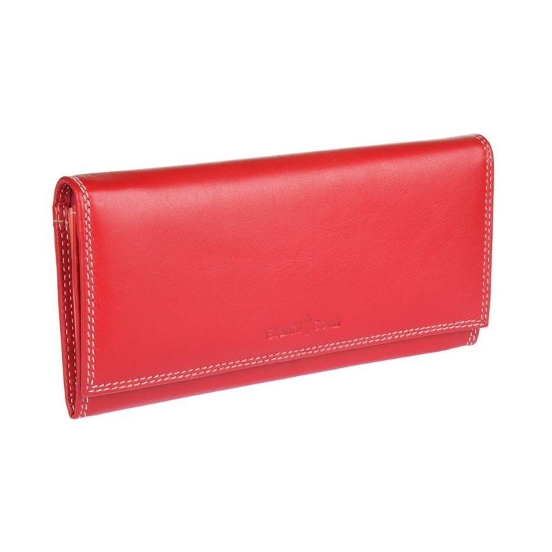 Coin Purse Gianni Conti 1807403 El. Red multi eastnights vintage crazy horse handmade leather men wallets multi functional cowhide coin purse genuine leather wallet tw1603