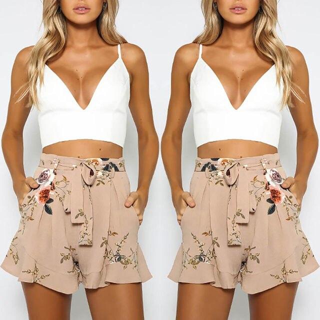 Print Sweet Girl Shorts 4