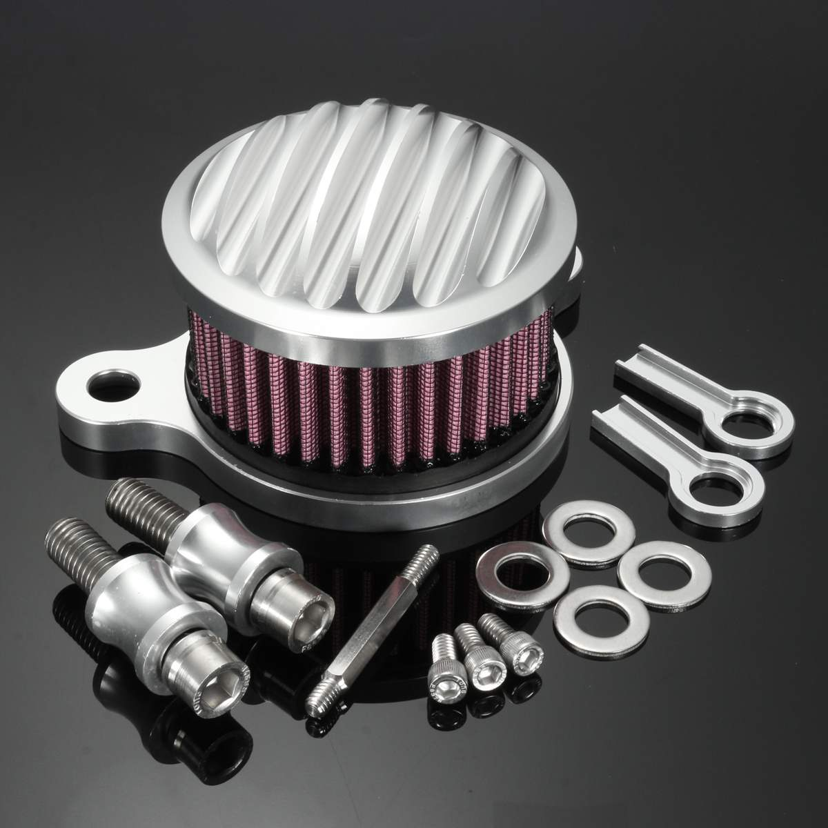 Motorcycle Air Filter Cleaner Intake Filters For Harley Sportster XL883 XL1200 2004-2016