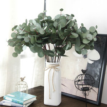 Length 63cm Simulation Eucalyptus artificial plants fake greenery home decoration fall decorations plastic flower