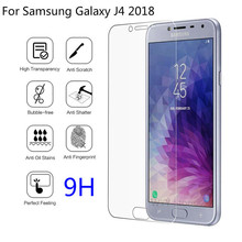 9H Tempered Glass For Samsung Galaxy J4 2018 J400 J400F/DS Screen Protector Film Cover J 4 Protective