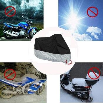 L/XL/2XL/3XL/4XL Moto Impermeabile di Copertura + Sacchetto di Stoccaggio Proteggere Pioggia Neve Polvere di Misura per Moto ATV Hoverboard e Skate elettrici Coperture