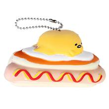 Simulation Bread Children Toy Novelty Gag Toys Squeeze Gadget Cartoon Keychain Stress Relief Squishying Surprise Gadget Toys