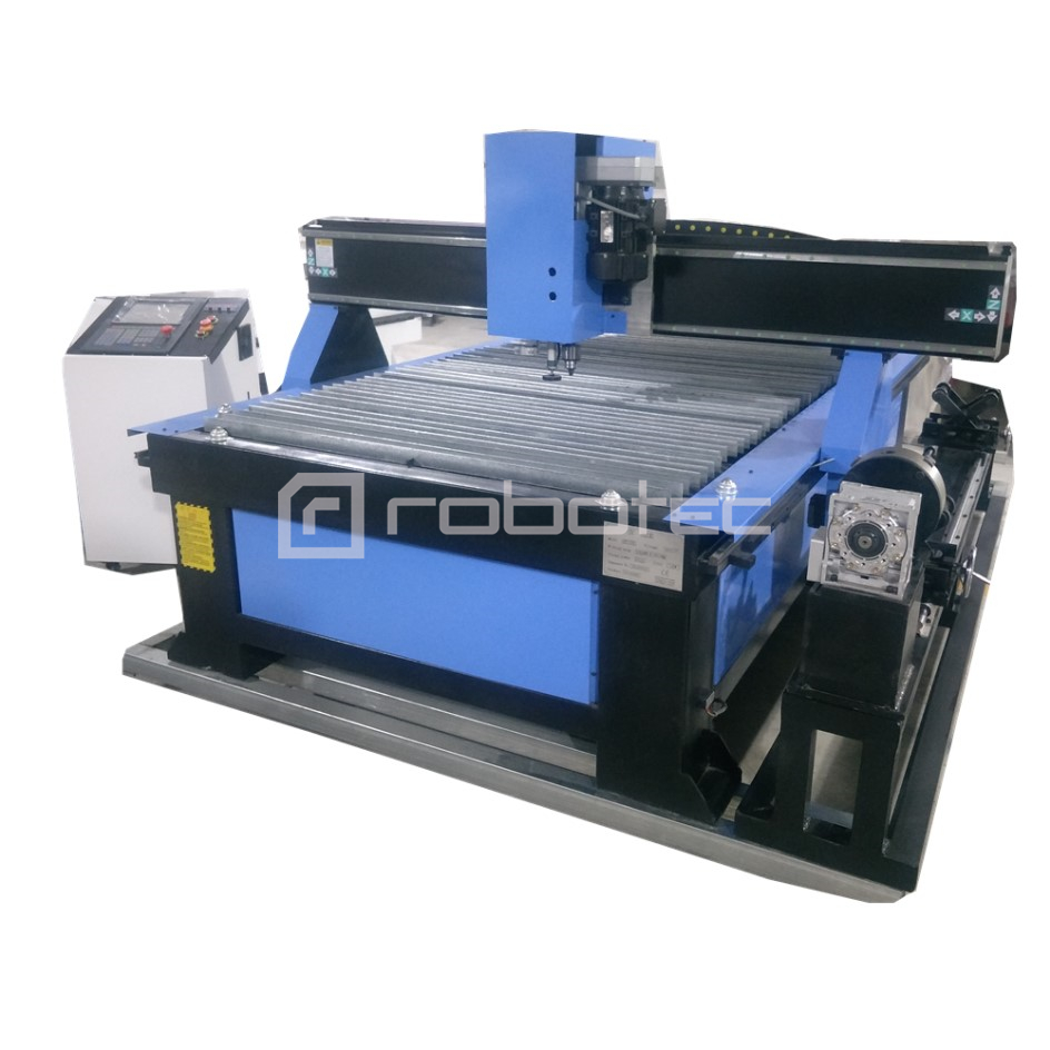 Chinese Factory Metal Pipe Plasma Cutting Machine With Rotary/drilling Tool Cnc Plasma Flame Metal Cutting Machine For Sale