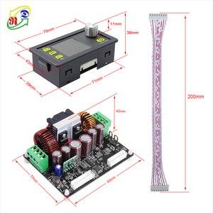Image 4 - Понижающий преобразователь RD DPH5005, программируемый источник питания постоянного напряжения и тока с цифровым управлением, цветной ЖК дисплей, вольтметр, 50 в, 5 А