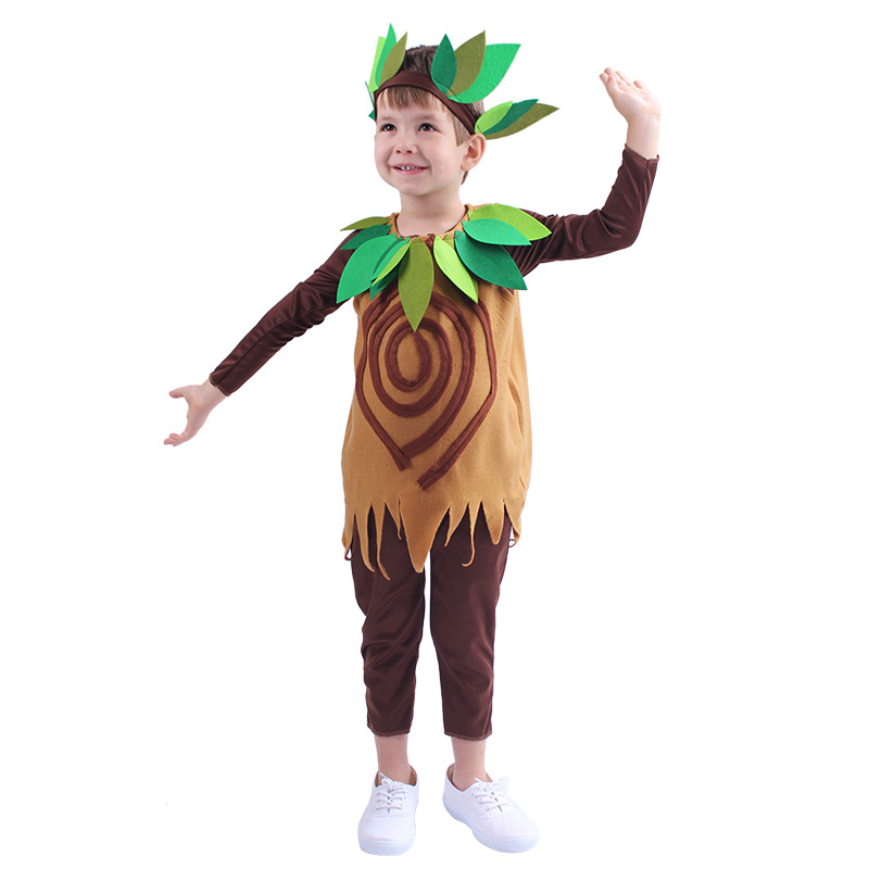 Funny Big Tree Kiwi Fruit Costume Kids Halloween