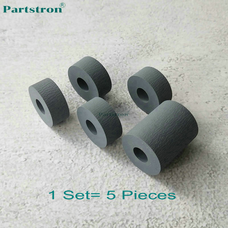 1Set ADF Feeder Registration Roller Tire #2 FC9-3656-000 For use in Canon IR 5055 5065 5075 5050 5570 6570 5070 7086