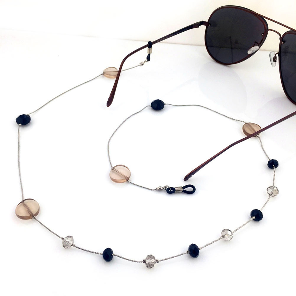 Bright 2pcs/pack Fashion Beaded Eyeglass Straps Eyewear Retainer Cord Sunglasses Holder For Ladies Girls Women Female Wide Selection; Eyewear Accessories