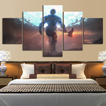 5 Piece Fantasy Art Wall Painting Destiny 2 Game Canvas Printed Pictures Home Decor For Living Room Poster Wholesale
