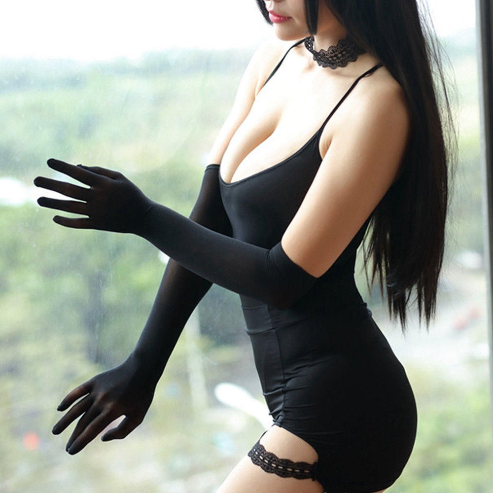Smooth Pantyhose Sheer Seamless Long Solid Sext Strech Glove Affordable Luxury Ladies Chic Gloves Accessary