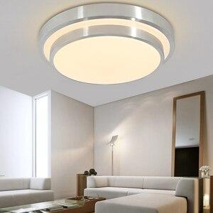 Image 2 - 12 W LED ضوء السقف لمبة عصرية غرفة المعيشة المطبخ الإضاءة سطح جبل دافق لوحة الأبيض/الدافئة أبيض/للتغيير تركيبات