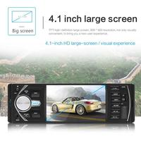 4.1 Inch Double 1 DIN Car MP5 MP3 Player Bluetooth Touch Screen Stereo Radio Camera Auto Radio Music Play