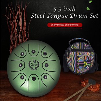 MEIBEITE 5 51*5 51*3 15 inches 5 5 inch Steel Tongue Drum Set Music