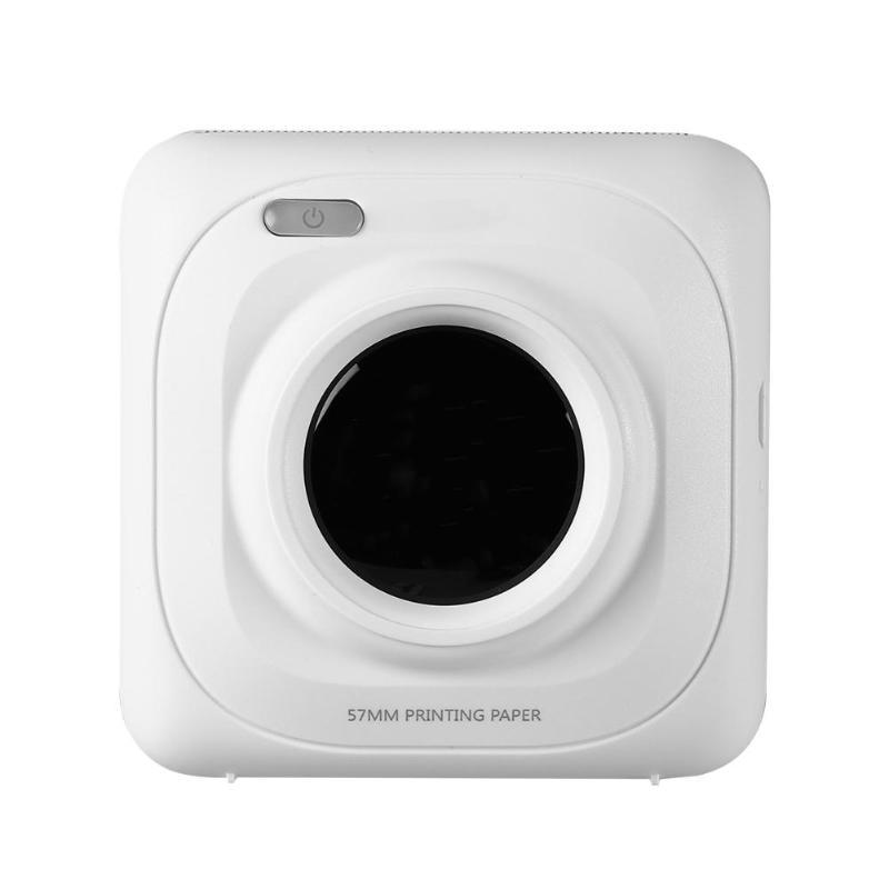 Printer Portable Bluetooth 4.0 Mini Wireless POS Thermal Photo Printer Phone Wireless Connection Printer Office School Supplies