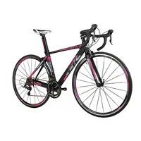 New Ultra Light Road Race Bike 18 Speeds 9 Gears Cassette Carbon Fiber Fork Shimano 3500 700c Road Bicycle Road Bike