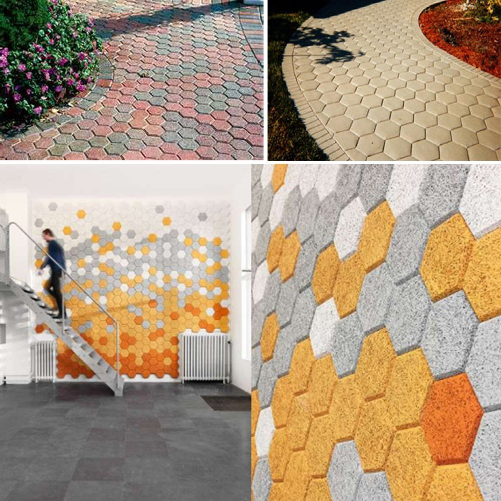 cheapest Paving Mould Concrete Floor Stepping Stone Paver Lawn Patio Yard Garden DIY Walkway Pavement Molds