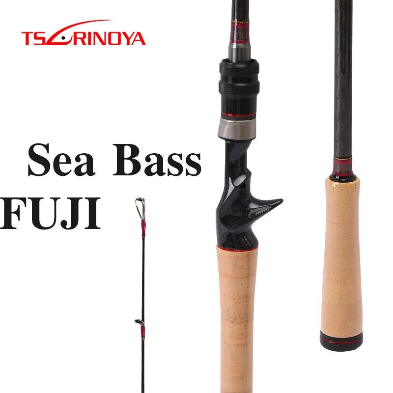 TSURINOYA Fishing Rod DEEP ATTACK 2 47m 2 28m M ML Power Long Casting Rod FUJI