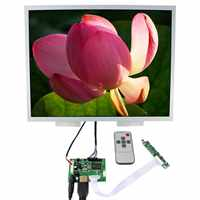 Pantalla LCD de 15 pulgadas, resolución 1024X768, LQ150X1LG96, retroiluminación LVDS de 20 pines, WLED HD MI placa controladora LCD VS-TY2660H-V1