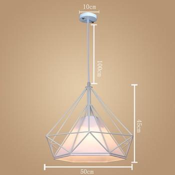 Casa Luminária Industrial Luz Do Vintage Moderno Nórdico Lampara De Techo Colgante Moderno Maison Lâmpada Pendurada