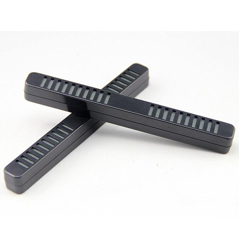1pc Black Tobacco Smoking Cigar Humidor Humidifier Bar-type Rectangle Humidor