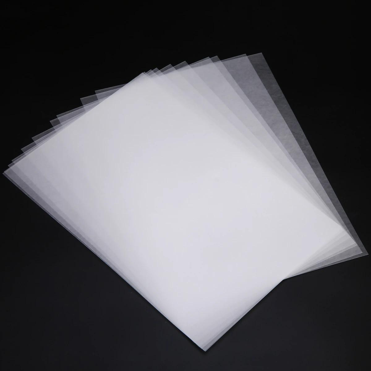 10Pcs Heat Shrink Paper Shrinkable Film for Keychain Pendants Jewelry Making