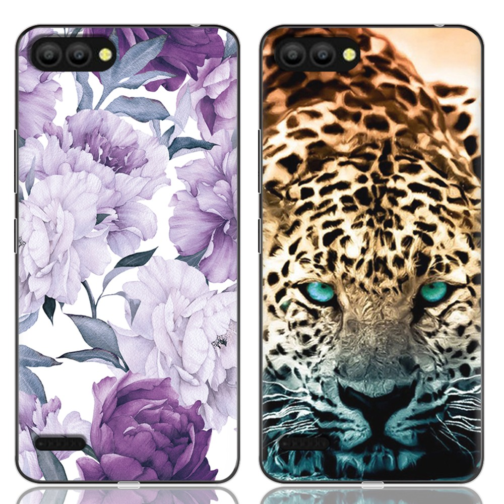 New Arrival Phone Case For Itel P13 Fashion Design Art Painted TPU