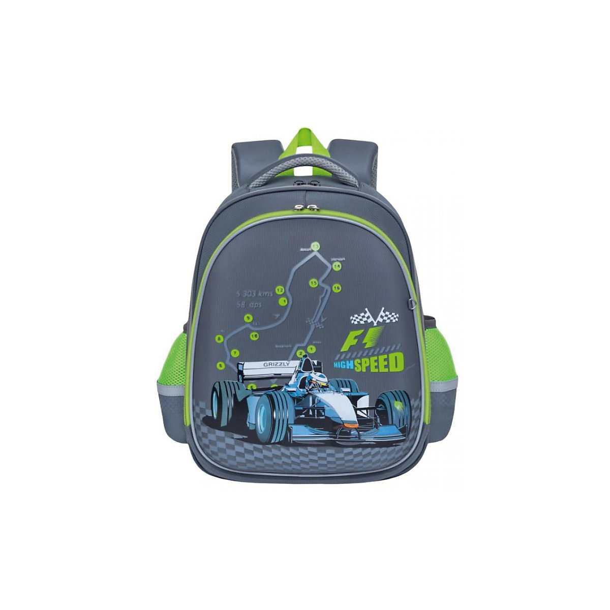 School Bags GRIZZLY 8317214 schoolbag backpack orthopedic bag for boy and girl animals flowers tiding 14 laptop backpack boy school bag genuine leather book bag casual rucksack day pack 3072
