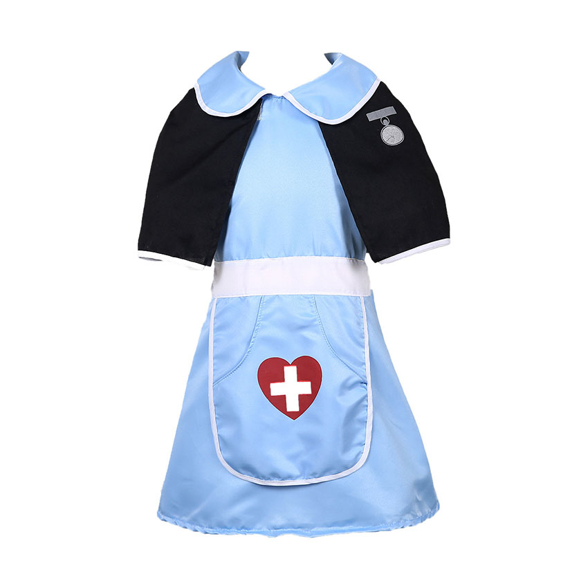 Nurse Cosplay Carnival Halloween Costumes Dress for Girl Anime Carnival Party Doctor Role Play Uniform Work Wear Hospital