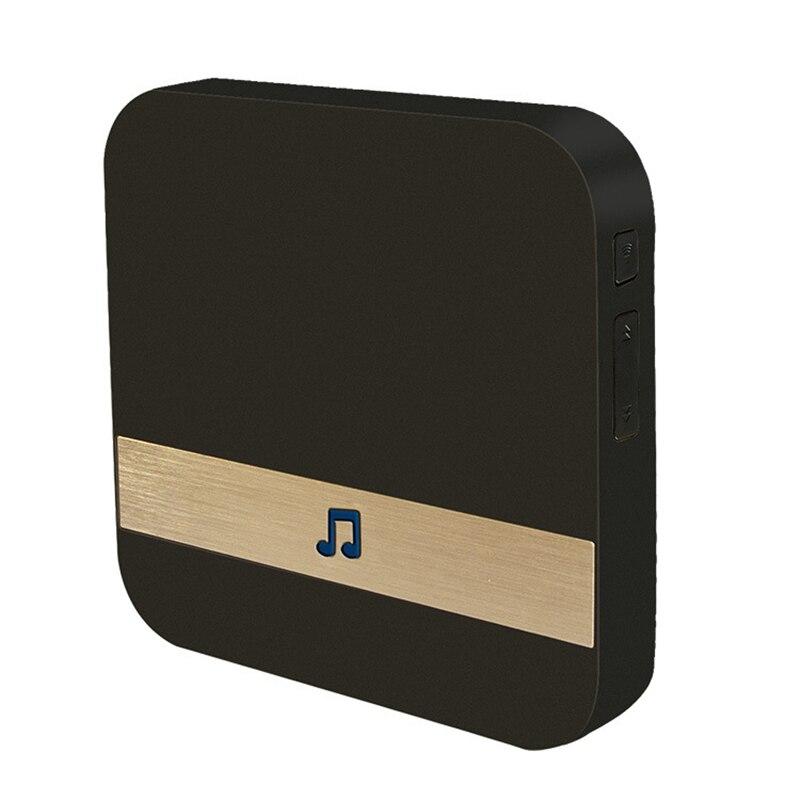 Wireless Wifi inteligentny wideodomofon 433 MHz gongu odbiornik muzyczny Home Security kryty domofon dzwonek do drzwi odbiornik 10 110dB dźwięki Dzwonek do drzwi Bezpieczeństwo i ochrona - title=